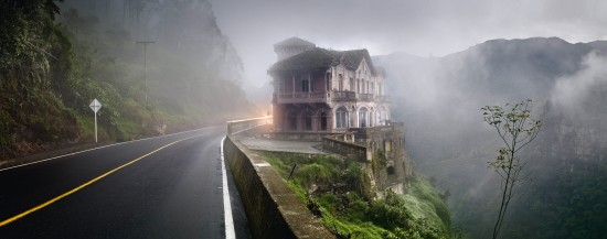 "Jose Maria Mellado  ""Hotel by Tequendama Falls"" courtesy Crown Gallery"