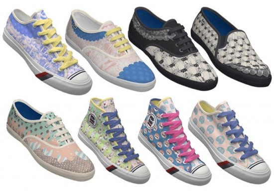 Yoko Furusho for Keds Shoes