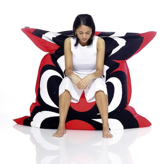 fatboy marimekko polkadot. Black Bedroom Furniture Sets. Home Design Ideas