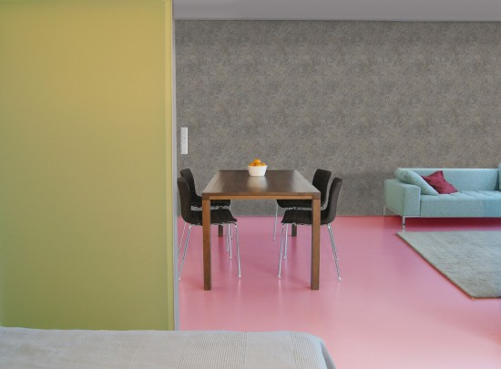 cute concrete polkadot. Black Bedroom Furniture Sets. Home Design Ideas
