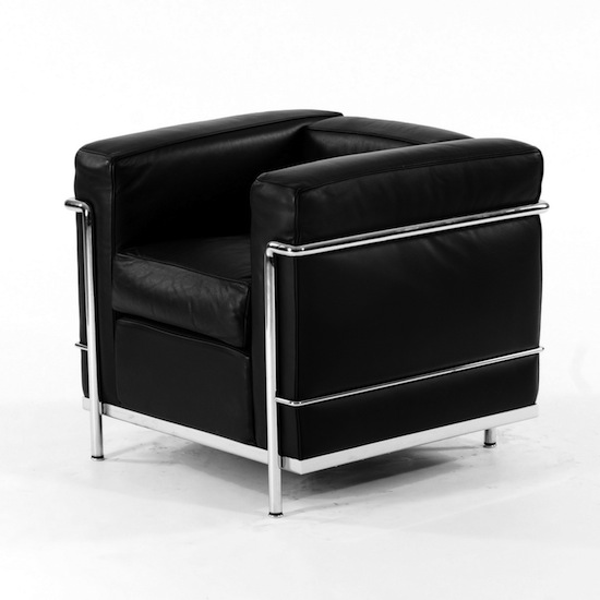 le corbusier lc2 armchair polkadot. Black Bedroom Furniture Sets. Home Design Ideas