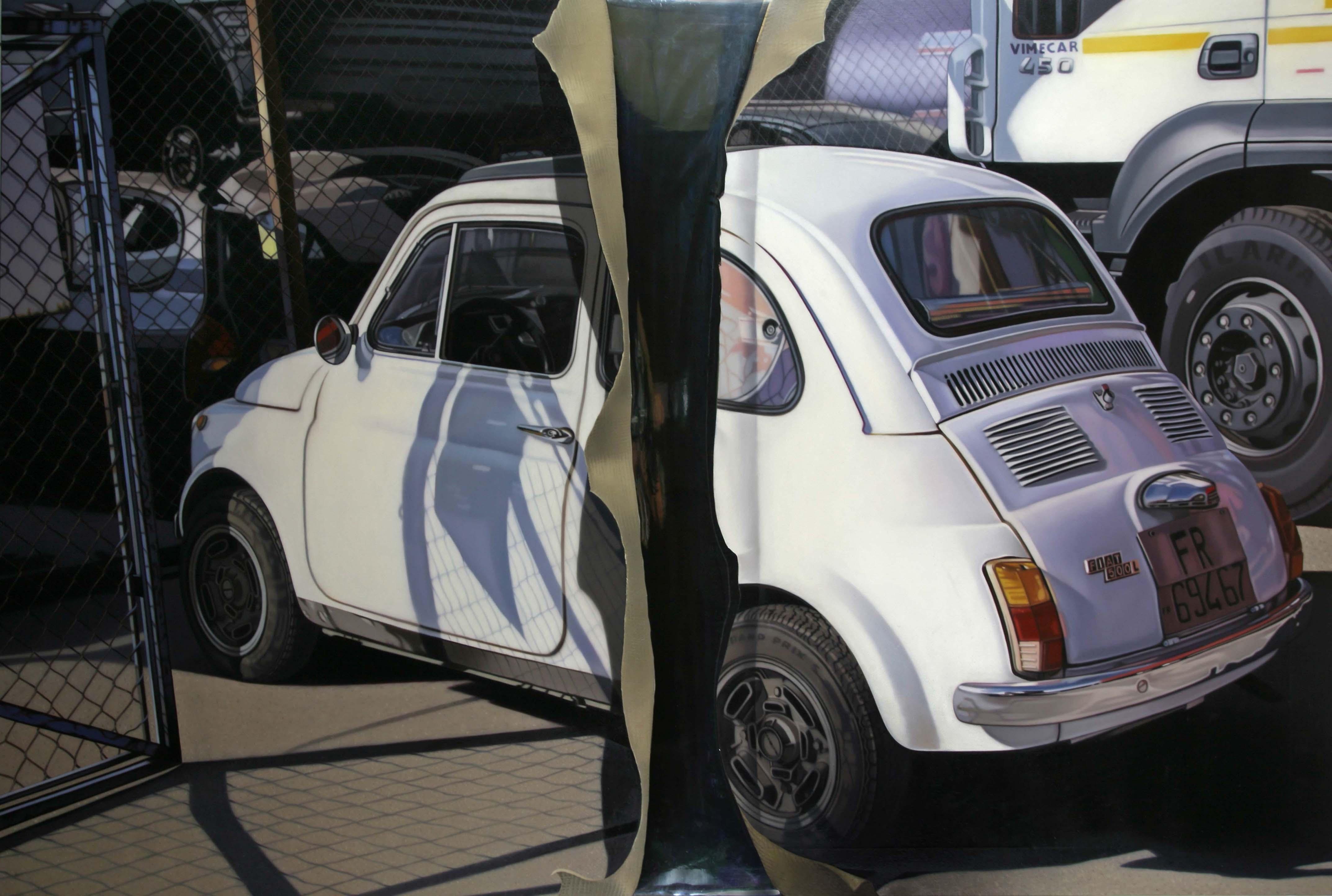 2009,Di-viso,olio su tela,cm 100x150