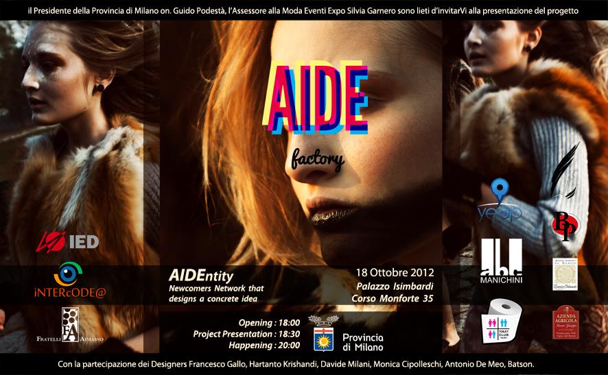 Conferenza stampa ottobre 2012 AIDE Factory