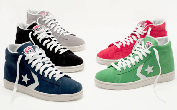 Converse Pro Leather Suede Fall 2012 Polkadot