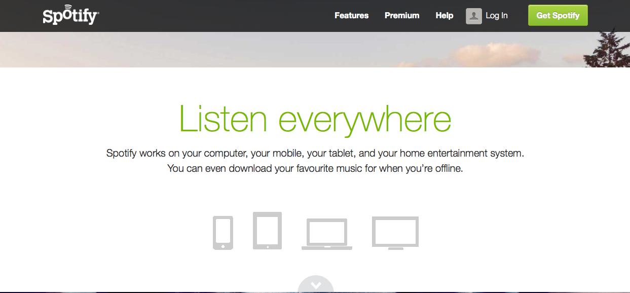 Spotify arriva in Italia