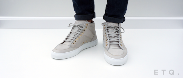 High Top - Light Grey
