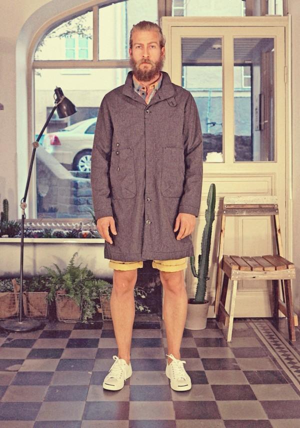Safron carcoat black melange