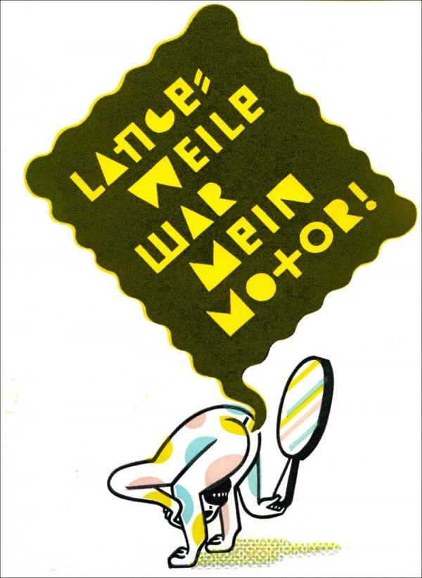 Christoph Feist, Langeweile war mein Motor, Artist Book, 2009 Lubok Verlag