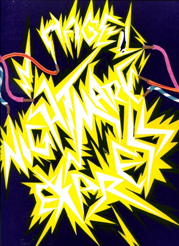 HAGEL, Nightmare Express, Artist Book, 2010, Lubok Verlag