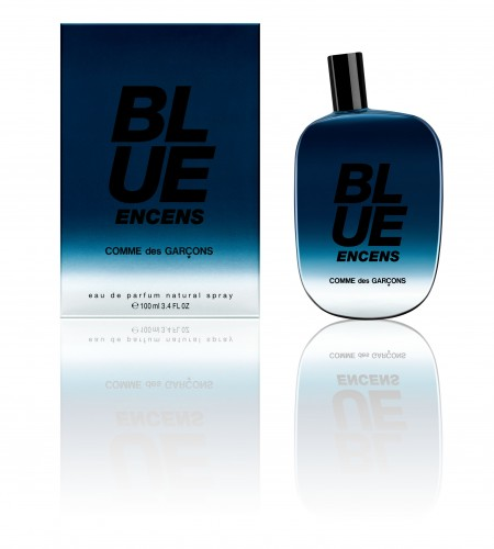 Blue encens_bottle & packaging