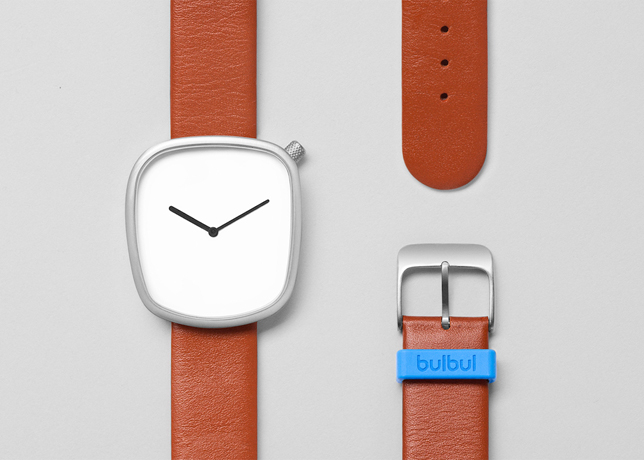 PEBBLE watch designed by Kibisi