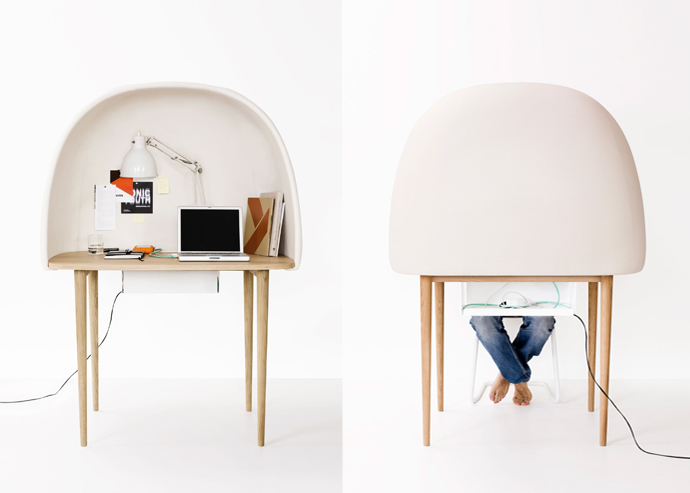 REWRITE desk designed by GamFratesi, Ligne Roset, 2011