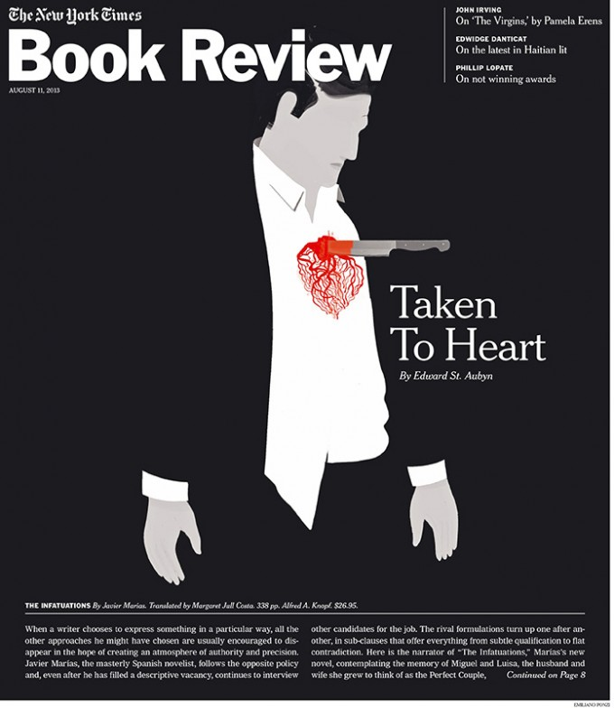 NY times book review cover
