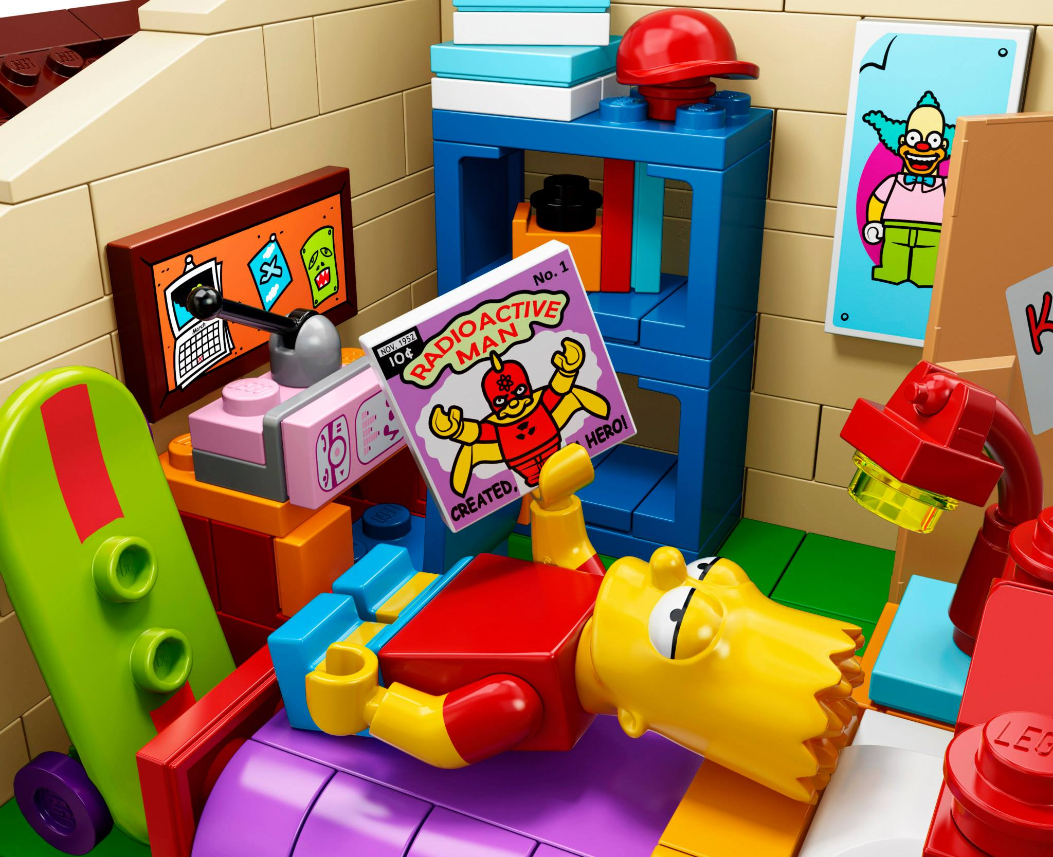 Lego la casa dei simpsons™ polkadot