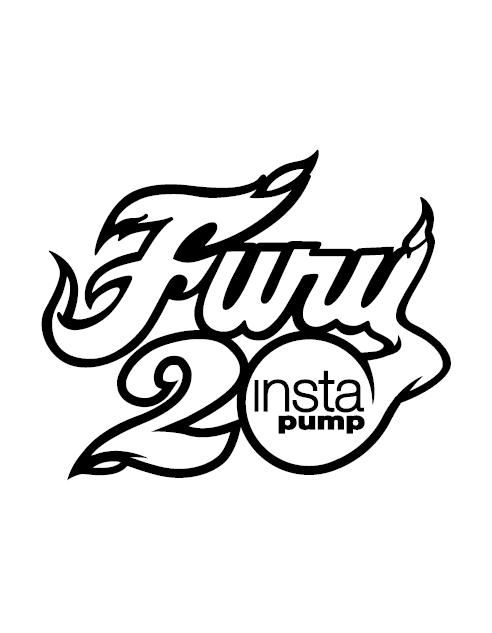 Instapump 20th anniv logo