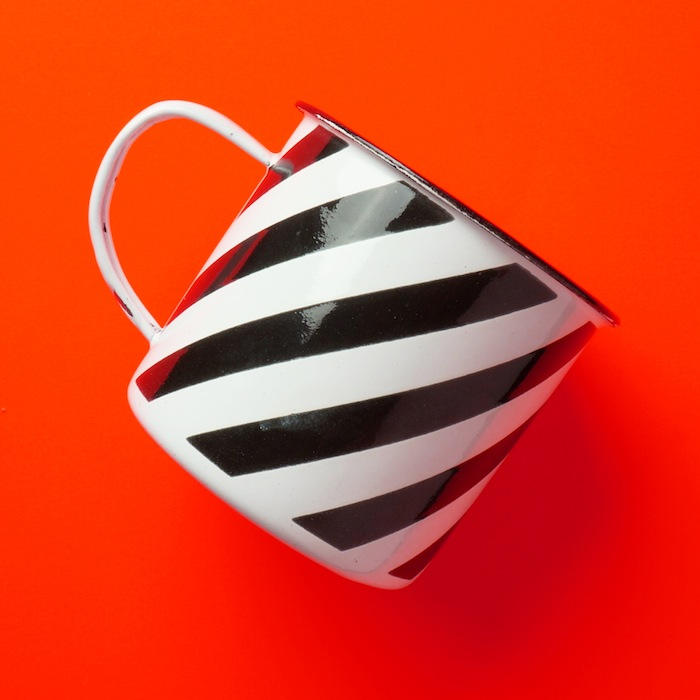 Striped Enamel Mug 2