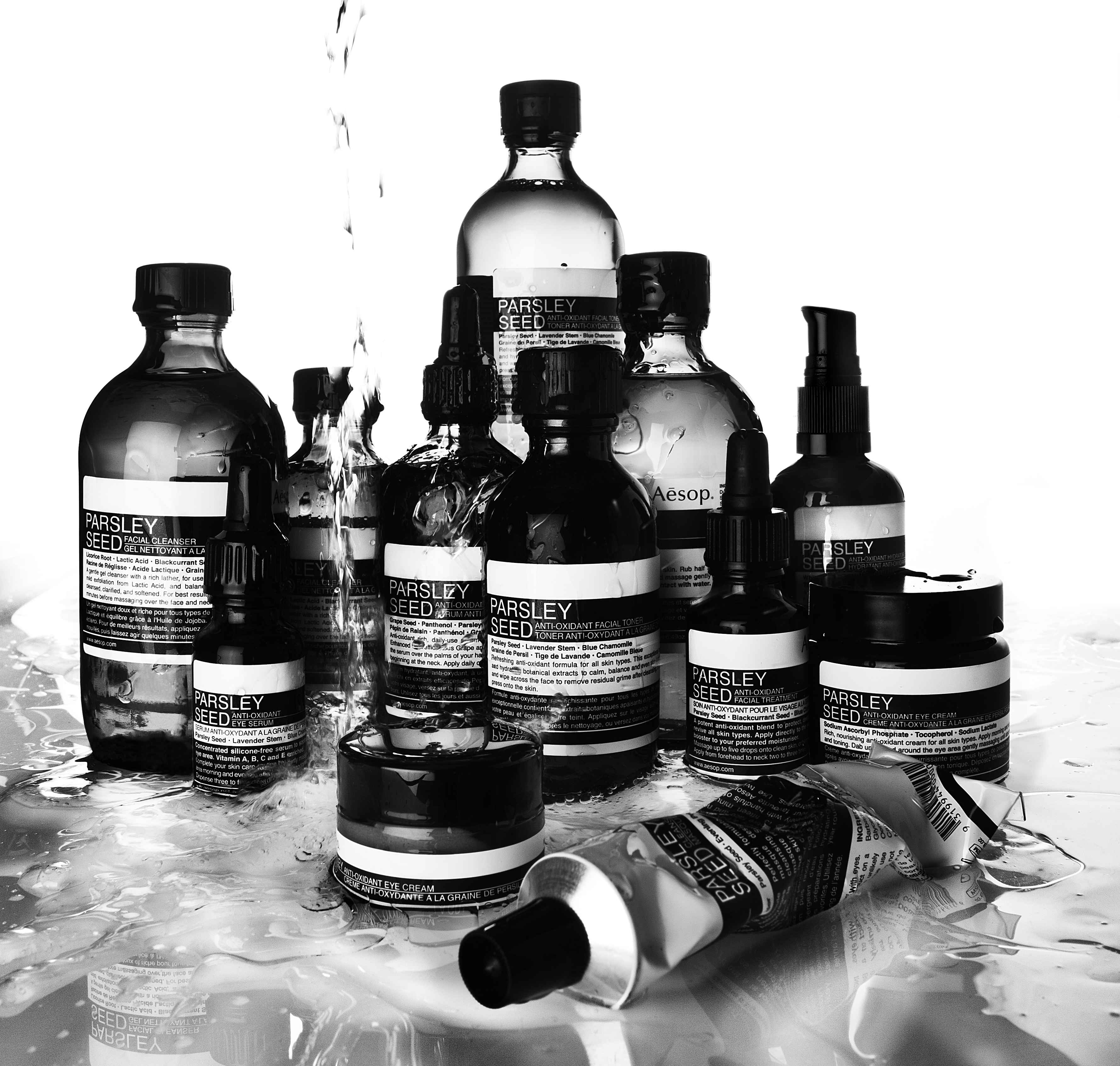 AESOP SKIN PARSLEY SEED RANGE 2012