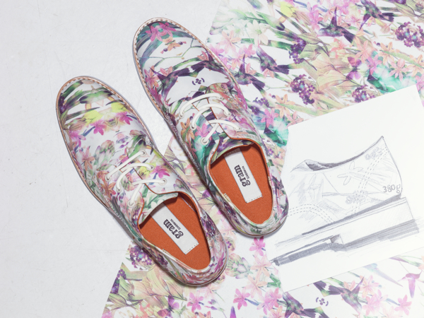 Gram shoes 380g digital flower SS14