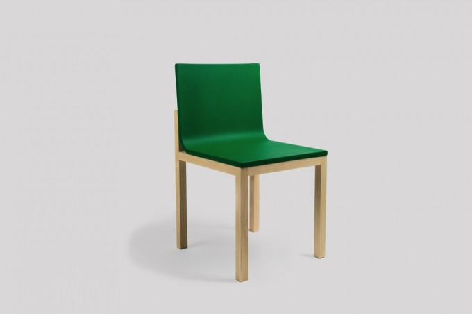 WH Slope Chair green-ash