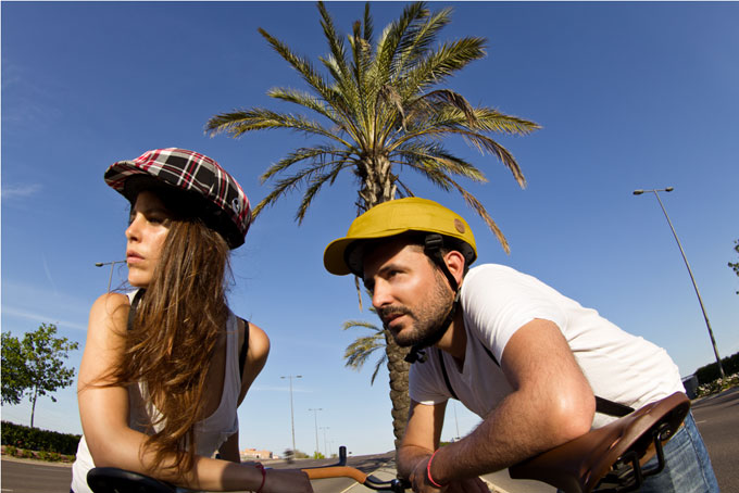 Closca il casco da bici stiloso che viene da valencia polkadot - Cal closca ...