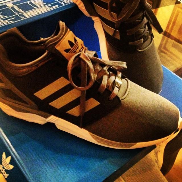 Adidas ZX flux cammello