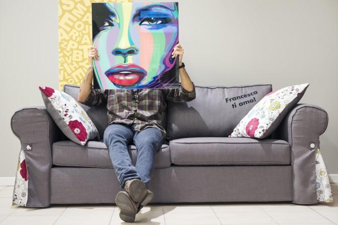 4 blogger, 4 divani e un Mercatone Uno - Polkadot