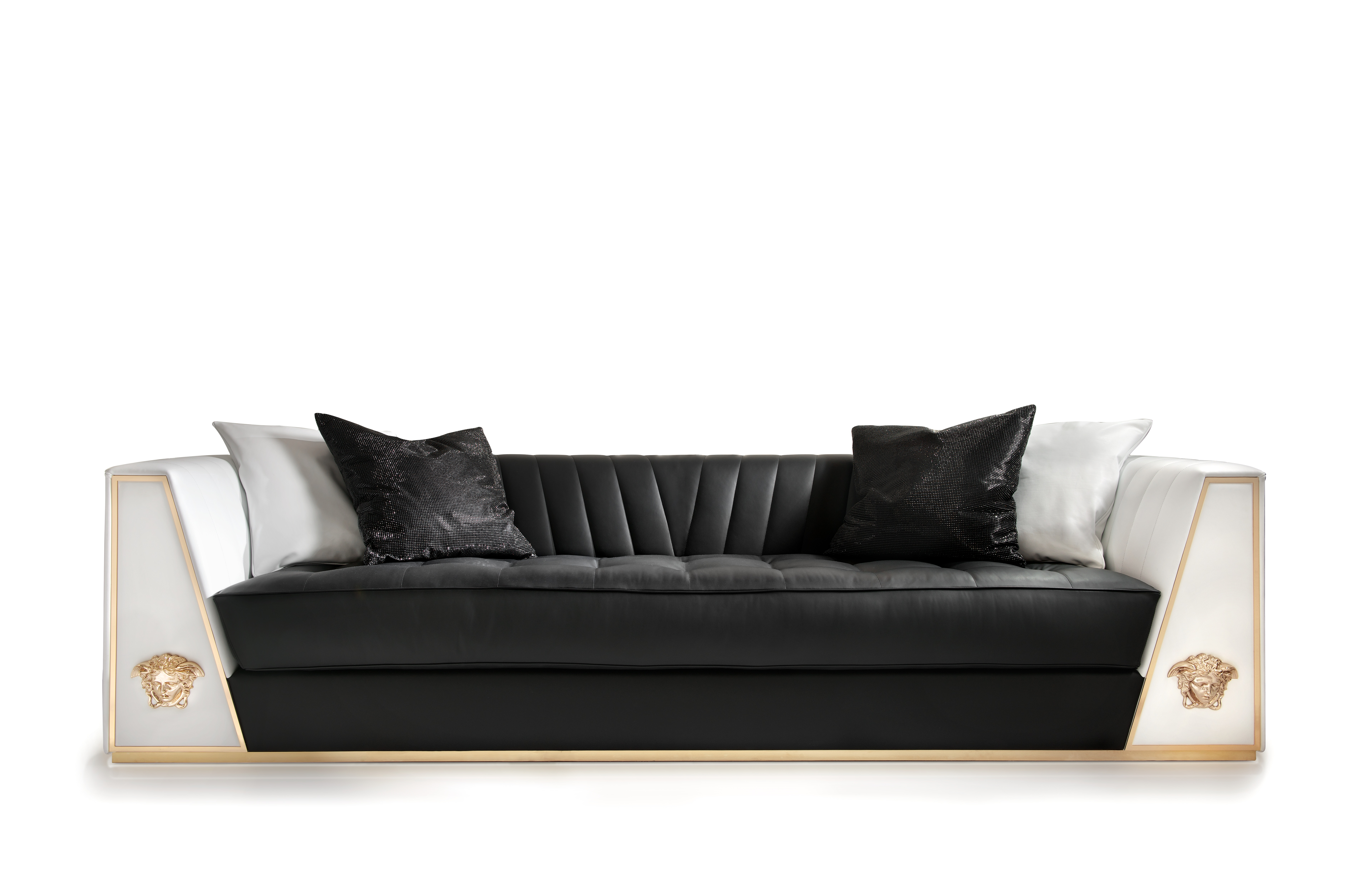 Versace home via ges sofa limited edition polkadot Xinlan home furniture limited