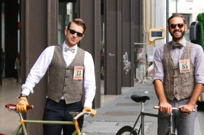 La nostra Tweed Ride con Scatto Italiano