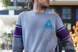 le coq sportif Legacy collection: biking in Milan