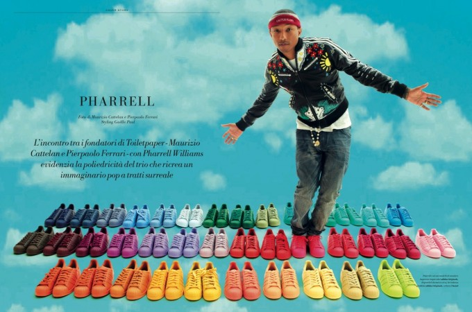 Pharrell x L'Officiel 1