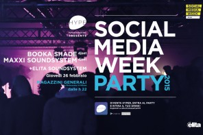 I Booka Shade protagonisti del party della Social Media Week 2015