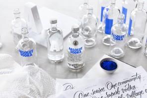 La nuova bottiglia di ABSOLUT