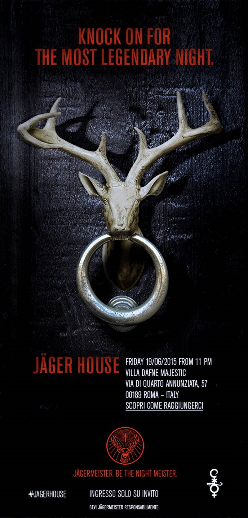 Invito Jager House - Roma