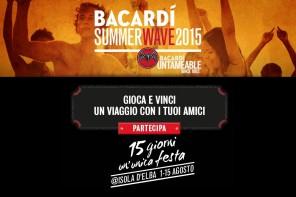 """Bacardi Summer Wave 2015"" @ Isola d'Elba"