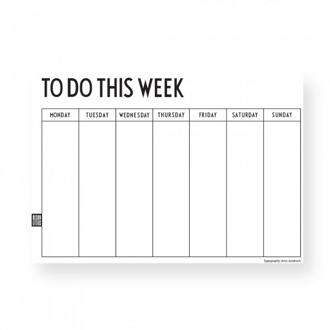 Weekly planner 14 €