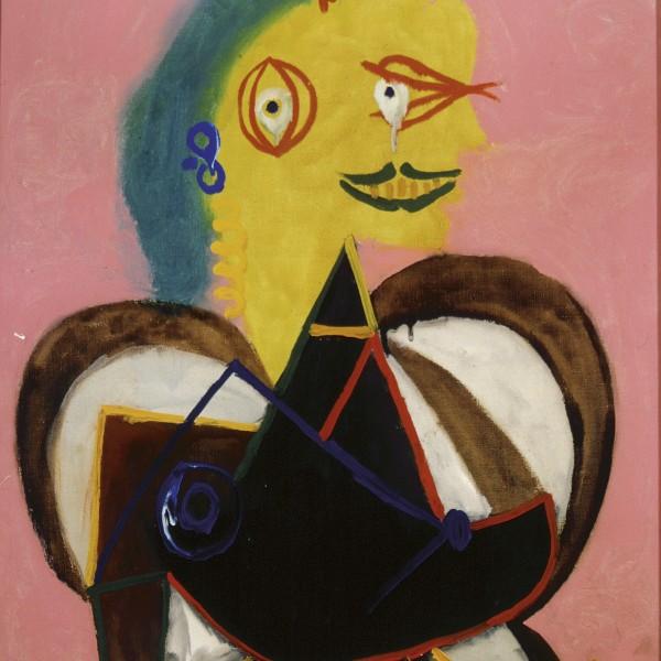 01. Picasso Portraits_Pablo Picasso_Portrait of Lee Miller à l'Arlésienne