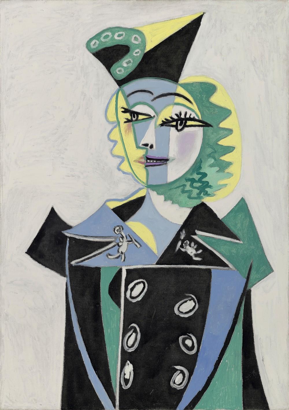 Picasso Portraits_Pablo Picasso_Portrait of Nusch Éluard