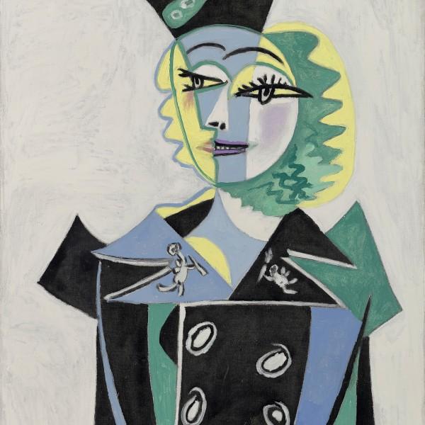 02. Picasso Portraits_Pablo Picasso_Portrait of Nusch Éluard