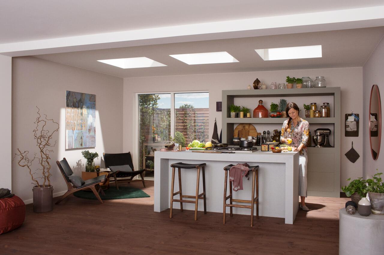 Trasformazione Sottotetto In Abitazione velux porta in casa la luce naturale - polkadot