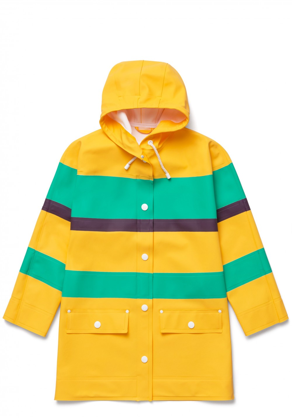 02 Stutterheim for Marni Spring18_Woman_DolmanCoat_YellowMulti_Product