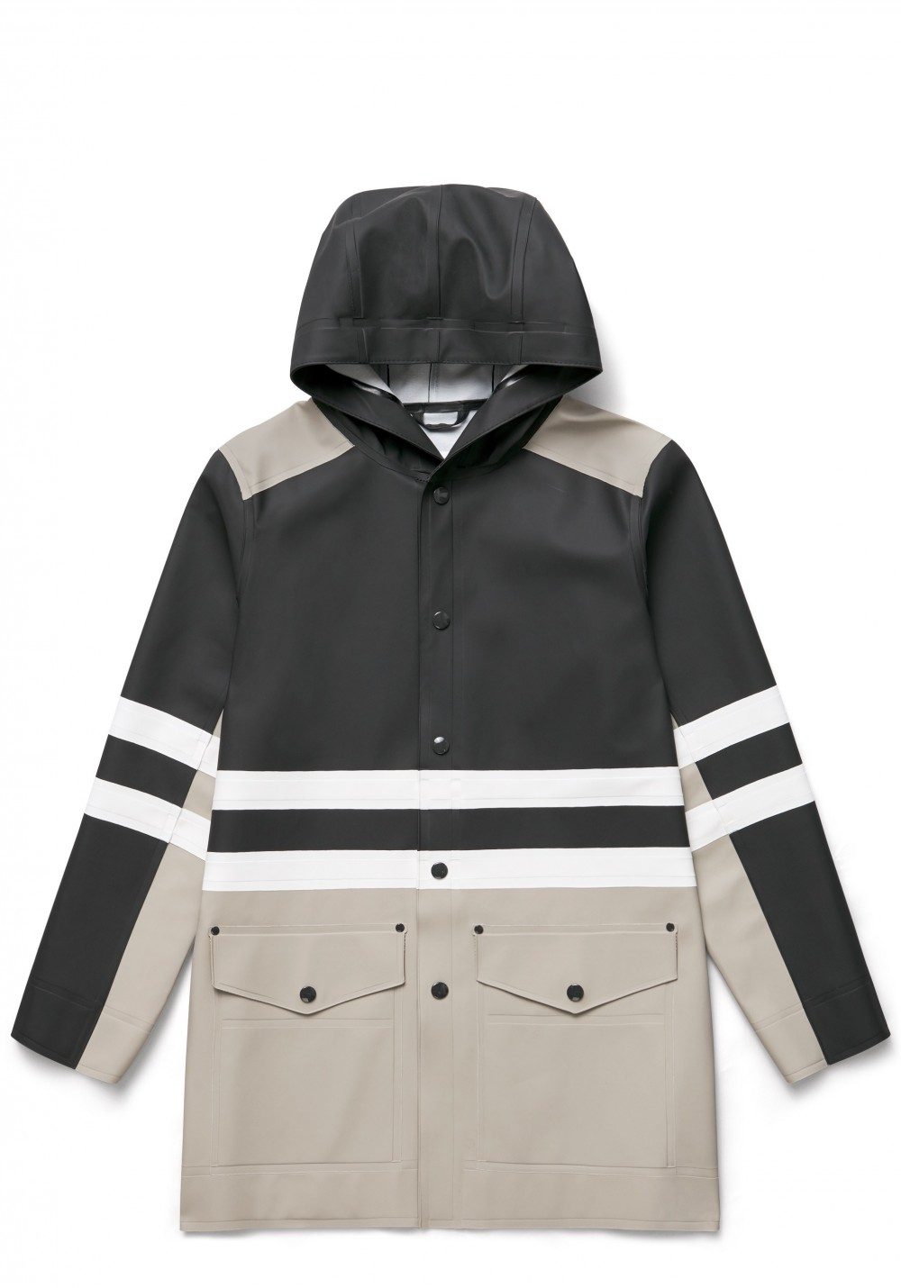 04 Stutterheim for Marni SS18_Man_StripeCoat_BlackMulti_Product