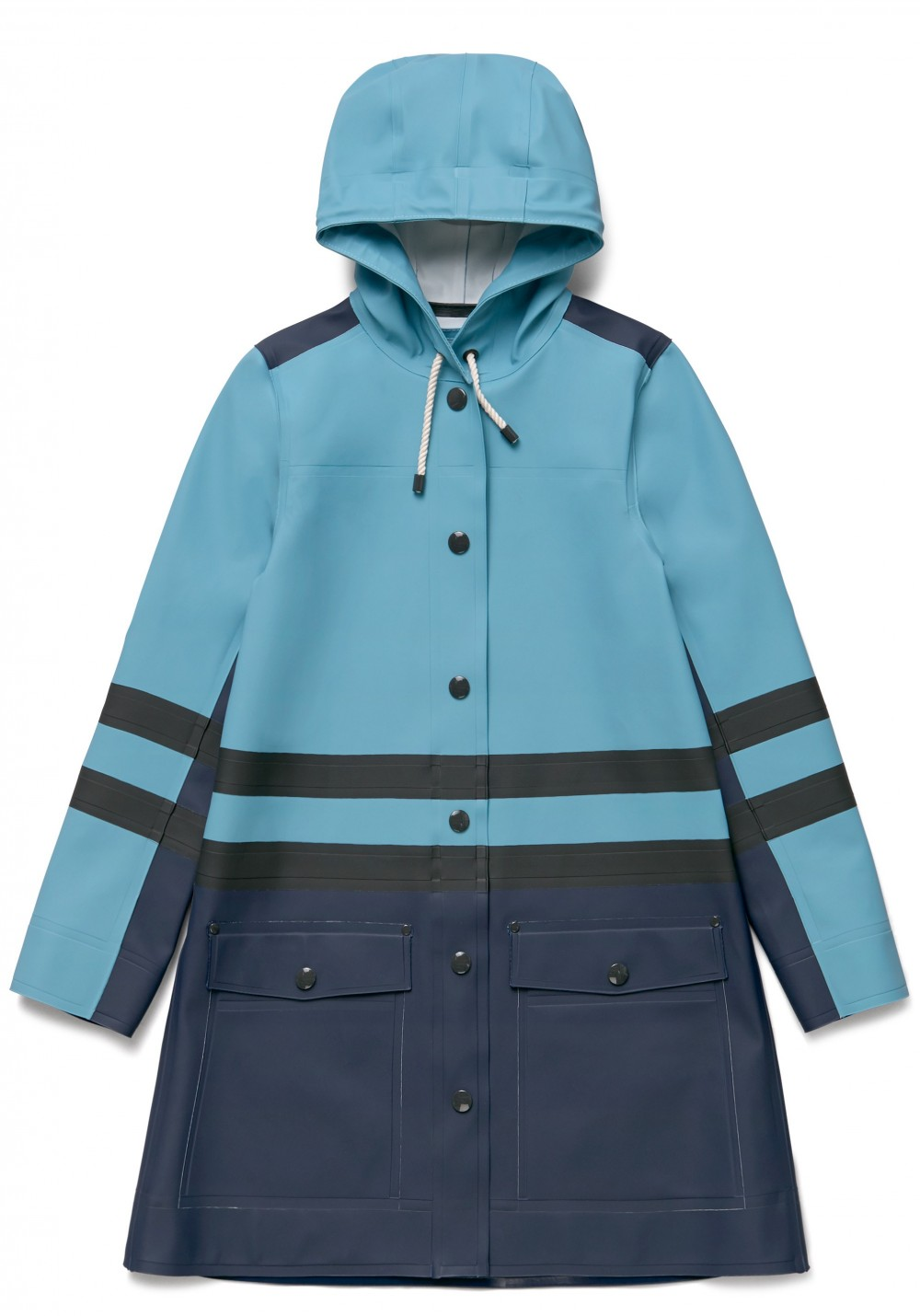 04 Stutterheim for Marni Spring18_Woman_StripeCoat_StoneBlueMulti_Product