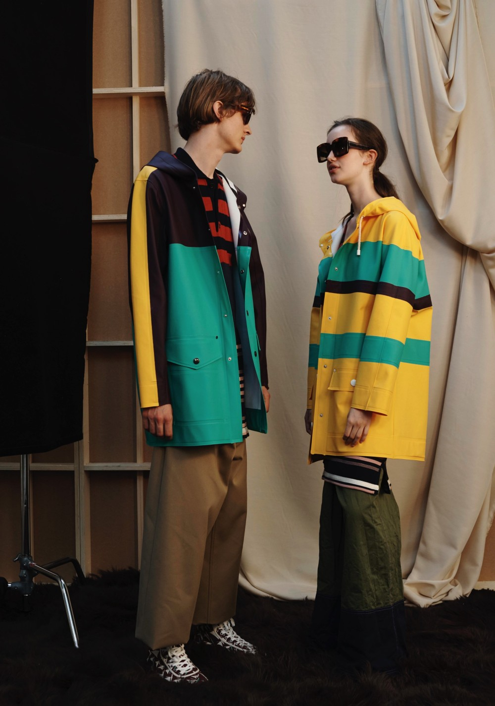 Stutterheim for Marni S2018 Men and Women