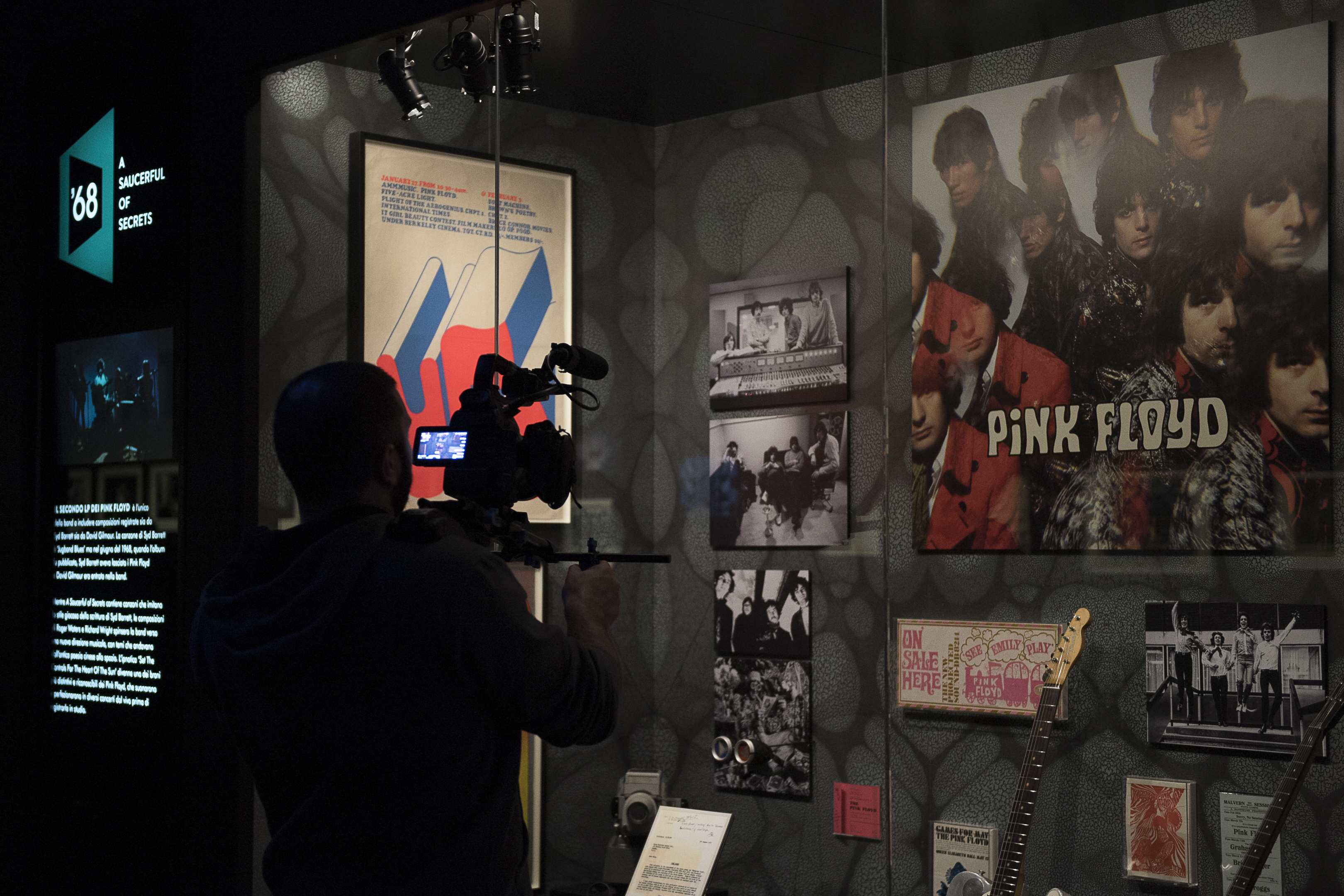 The pink floyd exhibition their mortal remains polkadot for Pink floyd exhibition